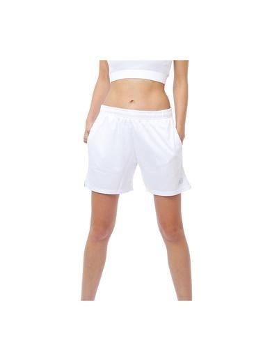 New Balance Kadın  Şort 45406 Beyaz